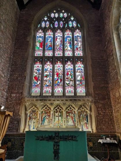 Cannington church end window
