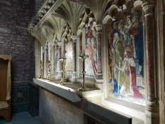 Behind the alter at Cannington