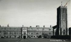 Old photo of Cannington church